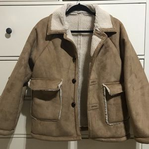 Jackets & Blazers - Korean Brand Michyeora Shearling Borg Coat